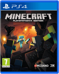 Minecraft voor PlayStation 4 coverfoto