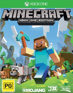 Minecraft voor Xbox One coverfoto